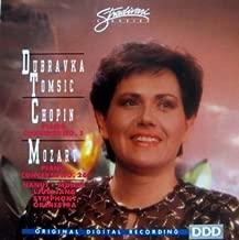 Dubravka Tomsic- Chopin: Piano Concerto No. 1 / Mozart: Piano Concerto No. 26