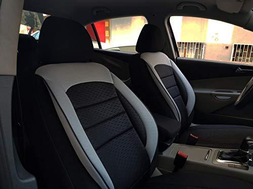 Sitzbezüge K-Maniac für Daihatsu Materia | Universal schwarz-grau | Autositzbezüge Set Komplett | Autozubehör Innenraum | NO2702337 | Kfz Tuning | Sitzbezug | Sitzschoner
