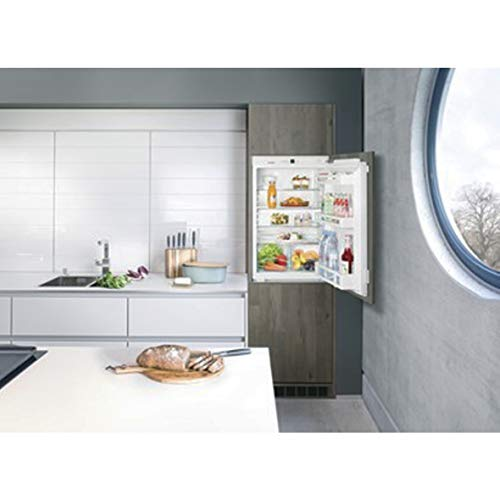 Liebherr IK1620 Built-in 151 litre Comfort Fridge White with BioCool-Box and Automatic SuperCool Function with GlassLine Interior, Reversible Door, 55.9cm Width