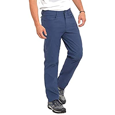 Eddie Bauer Men's Adventure Trek Pant (Blue, 34x30)