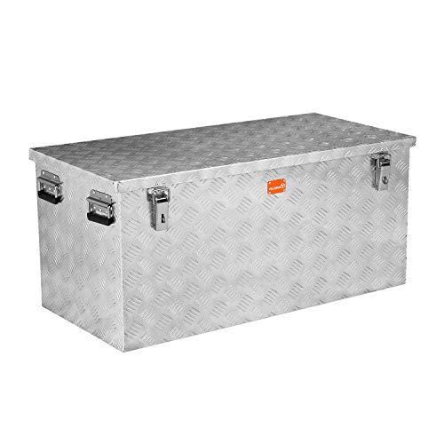 alubox R250 Aluminium Riffelblech Werkzeug Transportkiste 250 Liter
