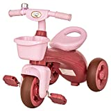 Best Tricycles - HOMCOM 3 Wheel Kids Tricycle Toddler Pedal Trike Review