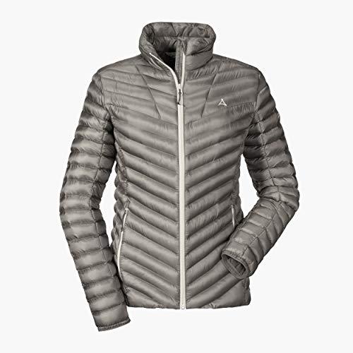 Schöffel Damen Thermo Jacket Annapolis1 Daunen-/ Thermojacken, silver filigree, 36 (S)