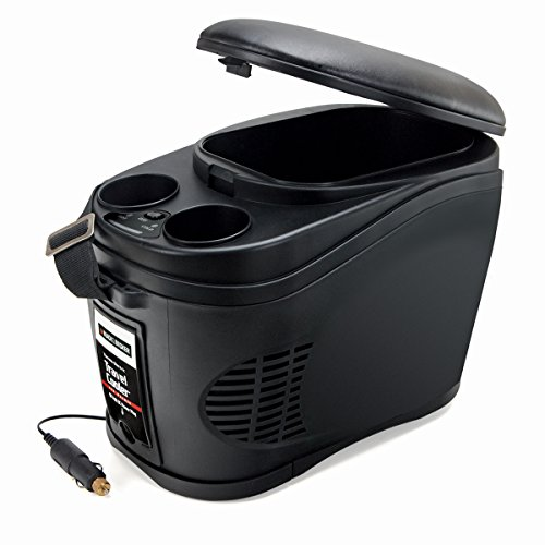 BLACK+DECKER TC212B Portable Travel Cooler/Warmer with 12V DC Power Adaptor: 12 Can, 2.3 Gallon Capacity