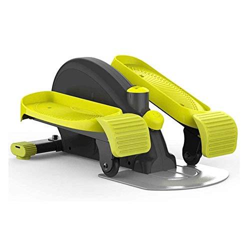 Mini macchina ellittica coperta, Mini Cyclette, compatto fitness sotto la scrivania / Stand Up ellittica, completamente montato compatto Strider con resistenza regolabile for Home Office Cardio Traini