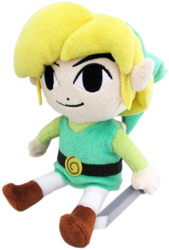 Little Buddy USA Legend of Zelda Wind Waker 12'' HD Link Stuffed Plush, Multi-Colored