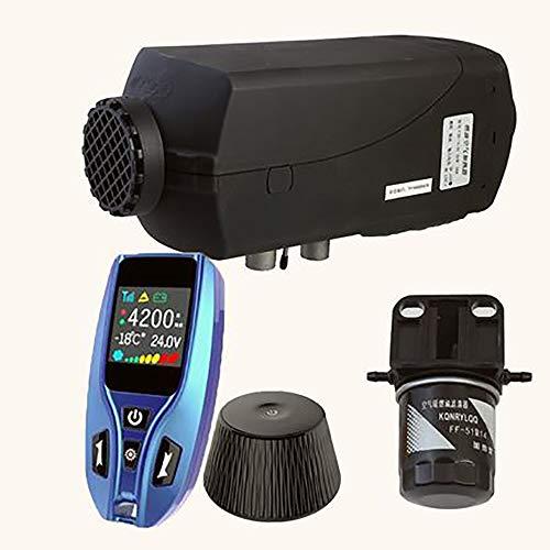 Xingxings Auto-luchtverwarmer voor op de auto, met afstandsbediening, 5 KW 12 V, alle in 1 geïntegreerde machine voor camper, boten, vrachtwagens, campers, campers en campers