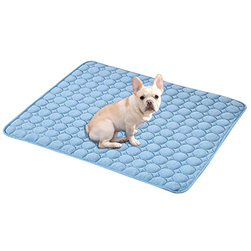 Dog Cooling Mat Pet Cooling Pads Dogs & Cats Pet Cooling Blanket for Outdoor Car Seats Beds (28IN40IN)