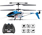 Haktoys 3.5 Channel Mini RC Radio Remote Control Helicopter with Gyro...