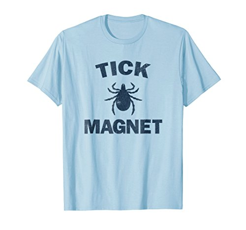 Tick Magnet T-Shirt Funny Camping and Hiking Bug Shirt