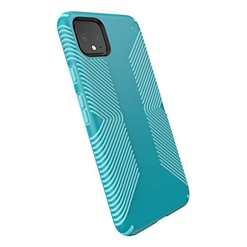 Speck Presidio Grip Google Pixel 4 XL Case, Bali Blue/Skyline Blue