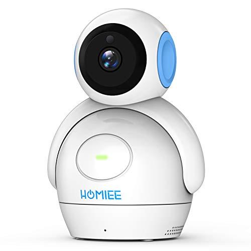HOMIEE 2.0 Baby Camera 360°, monitor LCD da 5 pollici e connessione wireless 2,4 G (fotocamera)