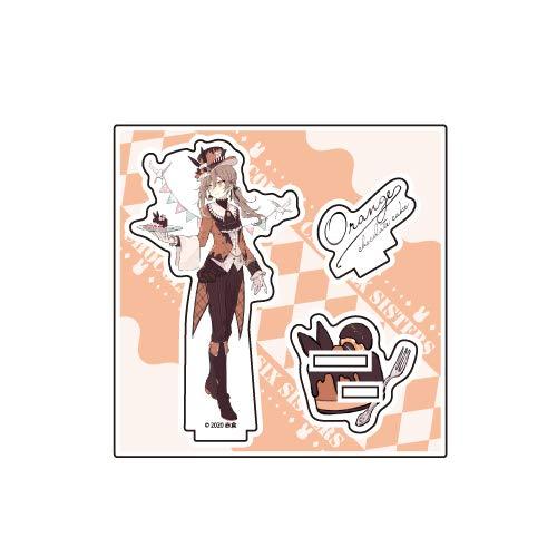 チョコケーキ6姉妹 04 オレンジチョコケーキ イースターver. アクリルフィギュアプレート