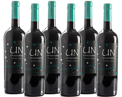 UN Garnacha Syrah - Vino Tinto - 60% Garnacha 40% Syrah - Bodegas Ejeanas - Caja 6 Botellas de 750ml
