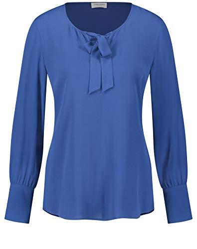 Gerry Weber Damen 260042-31405 Bluse, Blau (Blazing Blue 80859), (Herstellergröße: 36)