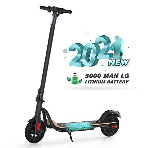 M MEGACHEELS Patinete electrico-25 km/h, batería 7500 mAh, 350W Potencia Maximo Patinete eléctrico Adulto y Adolescente. (S10BK)