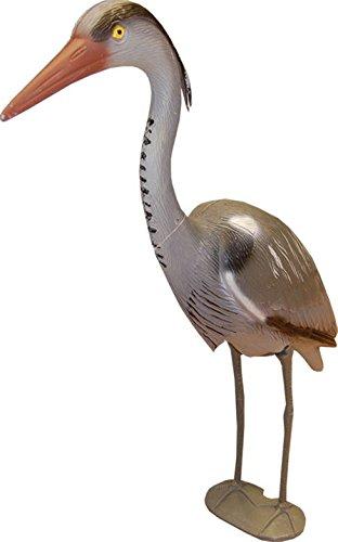 Decoy Heron Scarer Garden Ornament. 71cm tall. Weatherproof
