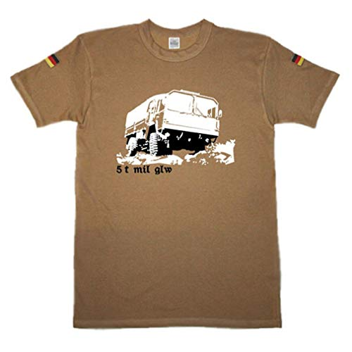 Copytec BW Tropen Tonner mil GLW Tropenhemd Tropenshirt Unterhemd Bundeswehr ISAF #14398, Größe:3XL (XXXL), Farbe:Khaki