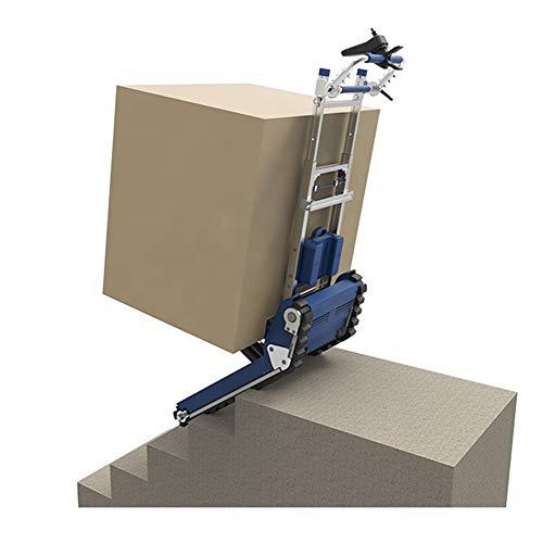 WSHA Carretilla de Mano para Subir escaleras de Carga Pesada con Ruedas, Ajustable de 5 velocidades, Carga máxima 420 kg / 925 LB, para Transportar Caja Fuerte Grande