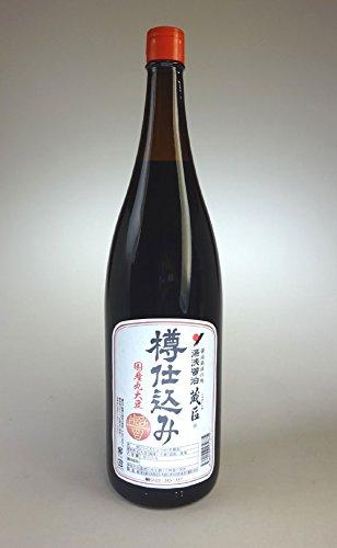 湯浅醤油 蔵匠 樽仕込み 1.8L 長期熟成の濃厚醤油 国産丸大豆使用のこだわり 無添加