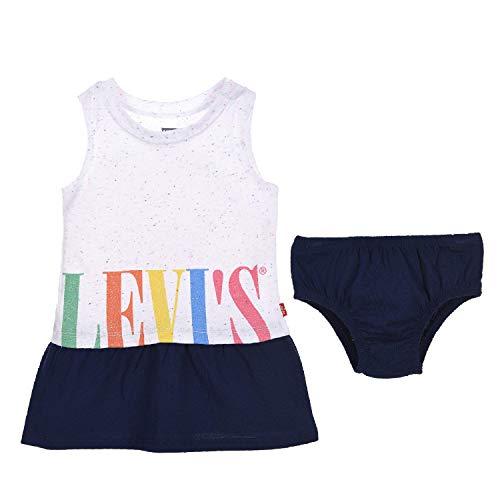 Levi's Kids Lvg Tank Top Dress Vestido Bebé-Niñas White 3 meses