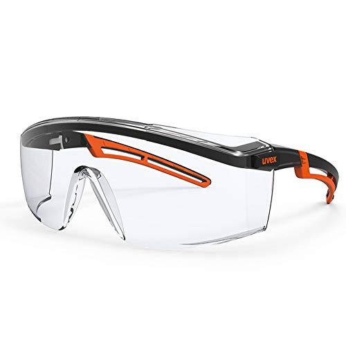 Wandspiegel Schutzbrille, UV-beständige, Wind- und Staub- und spritzwassergeschützte transparente Brille, einstellbare persönliche oder professionelle Schutzausrüstung