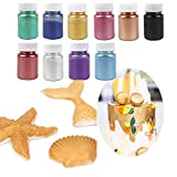 Edible Luster Dust - Baking decoration powder & Dust Food-Grade Luster Dust Gold Powder for Cake...