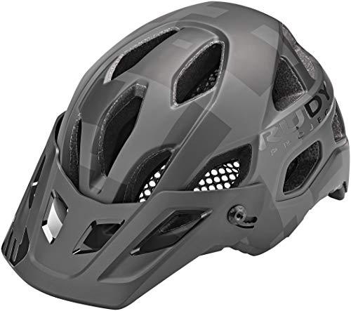 RUDY PROJECT Casco Bici Protera+ MTB Gravel (L, Black Stealth(Matte))