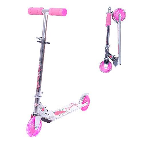 WORKER Patinete Racer Sweet Girl con ruedas luminosas