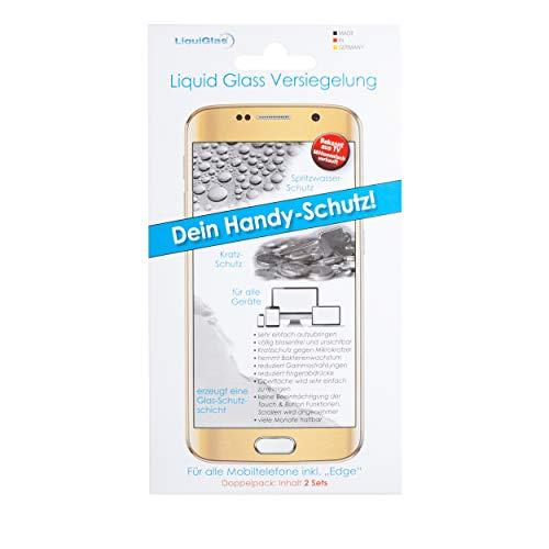 CCM Liquid Glass Flussigglas Schutz fur das Smartphone und Displays 2er Set Preisgekront Displayschutz fur alle Smartphones Apple Samsung Edge Google Nano Versiegelung 9H