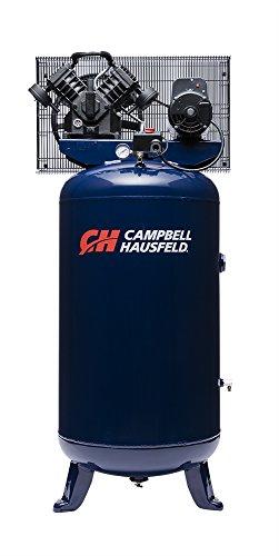 Air Compressor, 80 Gallon, Vertical Compressor, Single-Stage, 16CFM, 5HP, 1PH (Campbell Hausfeld TQ3104)