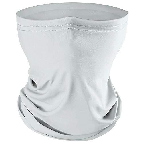 LayOPO Sommer-Gesichtsschal-Maske, Atmungsaktive Sonne UV-Schutz Halsmanschette Dünne Winddichte Gesichtsmaske Headwear Für Wandern, Angeln, Laufen, Radfahren, Outdoor