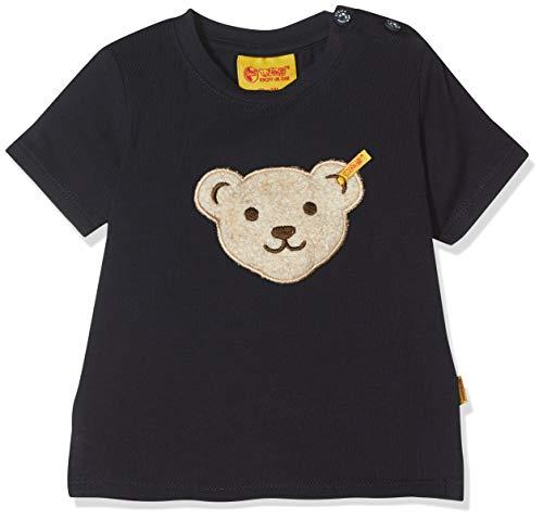Steiff Steiff Baby-Jungen 1/4 Arm T-Shirt, Blau (Marine|Blue 3032), 80