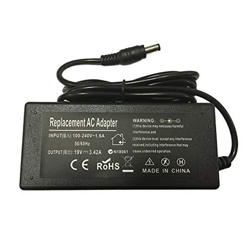 ACEHE Cargador Adaptador de Corriente para Ordenador portátil, Cargador Adaptador de Corriente para Ordenador portátil para Toshiba Satellite L500 L650 L670 L750D L850