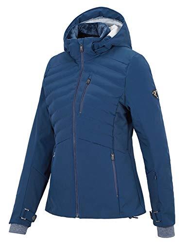 Ziener dames skisport ski-jack winterjas trendy ski-jack TAMIN Lady blauw, maat: 46