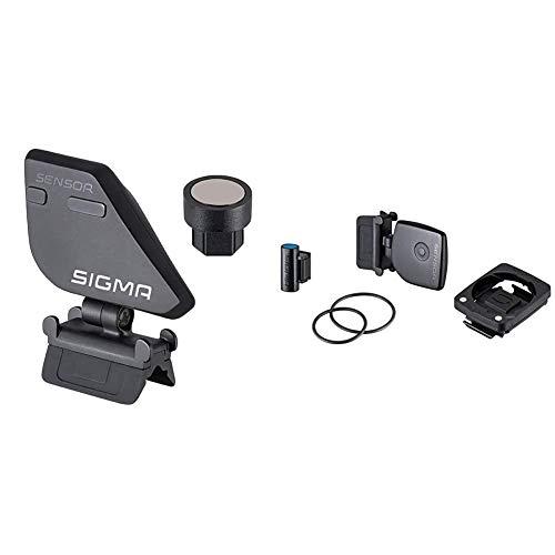 SIGMA SPORT Zubehör, Geschwindigkeits Sender STS Rad 2 Kit für Halterung 2450 & Sport Zubehör, Trittfrequenz Sender Kit STS