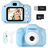 ZStarlite Cámara Digital para Niños, 1080P 2.0 'HD Selfie Video Cámara Infantil,...