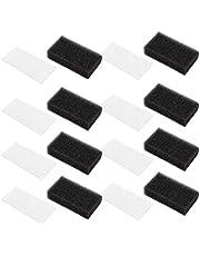 Artibetter Filtros Cpap Filtro de Espuma Y Filtros Ultrafinos Filtros Universales Desechables Filtros de Repuesto Suministros 30Pcs