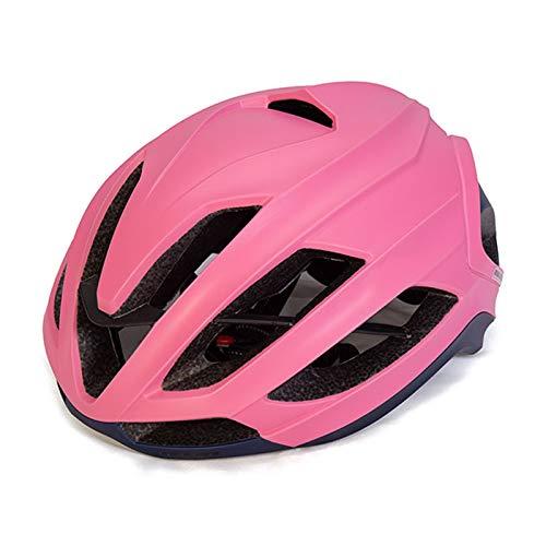 XYW Erwachsener Helm Radfahrenhelm - eingebauter Kiel Fahrrad Reiten Helm Männlich Rennrad Bike Mountainbike Helm Radmütze Weibliche Outdoor-Ausrüstung Leicht (Color : 01)