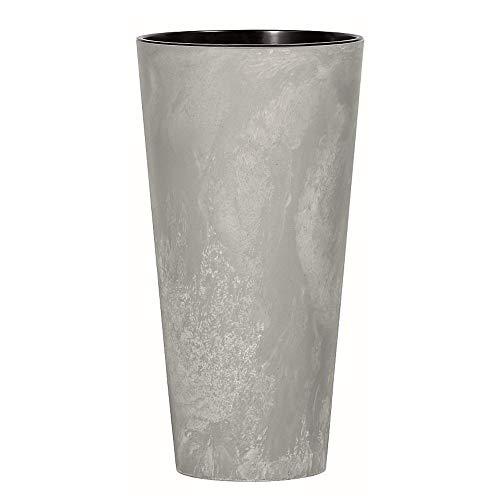 Prosperplast vaso di fiori, grigio (cemento), 25x47,6 cm, DTUS250B-422U