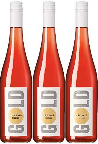 Rosé GOLD - Weingut Leon Gold - Weinstadt - 3er Paket