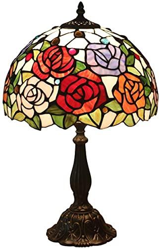 Wzglod Tiffany Lámpara de Mesa Creativa Dormitorio Nocturna Sala de Estar Restaurante Bar cafetería marginada lámpara de Mesa marroquí lámparas