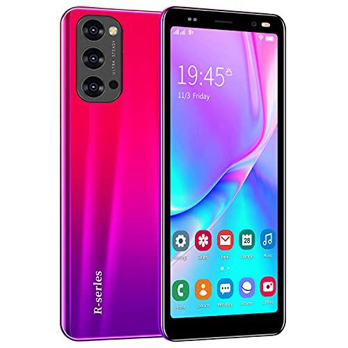 Android Smartphones, Dual Sim Mobile phone, 5.0 Inch Quad-Core 4GB ROM, Dual Cameras, Bluetooth, GPS, Wifi Cell Phones (Reno4-Rosa)