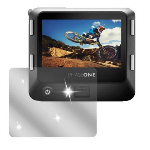 dipos I 6X Schutzfolie klar kompatibel mit Phase One IQ 250 Folie Bildschirmschutzfolie