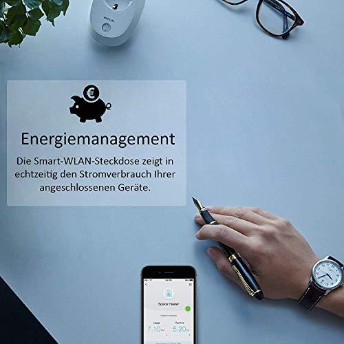 TP-Link HS110(EU) intelligente WLAN Steckdose (mit Verbrauchsanzeige, funktioniert mit Amazon Alexa [Echo, Echo Dot], mit App Steuerung überall und zu jeder Zeit) - 6