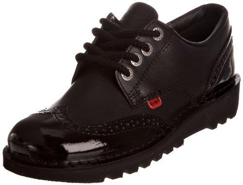 Kickers Kick Lo Brogue 110689 - Zapatos de cordones para mujer, color negro, talla 40 (6.5 UK)