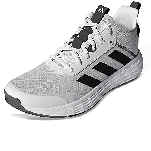 adidas OWNTHEGAME 2.0, Zapatillas Hombre, FTWBLA/NEGBÁS/Gricua, 44 EU