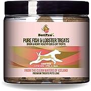 Pure Paw Pure Fish & Lobster Treats, Brain & Heart Healthy Dog Treats