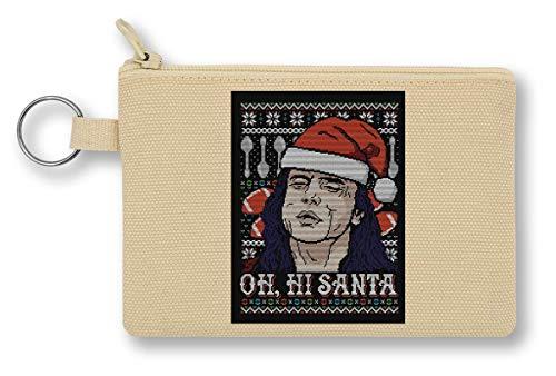 Oh Hi Santa portemonnee met ritssluiting