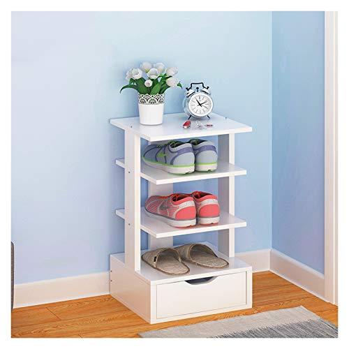 Organizador para Zapatos Entrada Independiente zapatero que ahorra espacio multi-capa de zapatero, multi-funcional diseño de almacenamiento en rack Inicio 4-8 pisos zapatero con cajón Mueble para Zapa